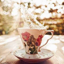 White Tea by Tamerlana