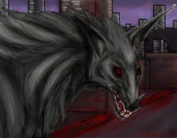 Apocalyptic Wolf by Rexin-Draic