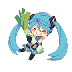 Miku Loveth The Leek
