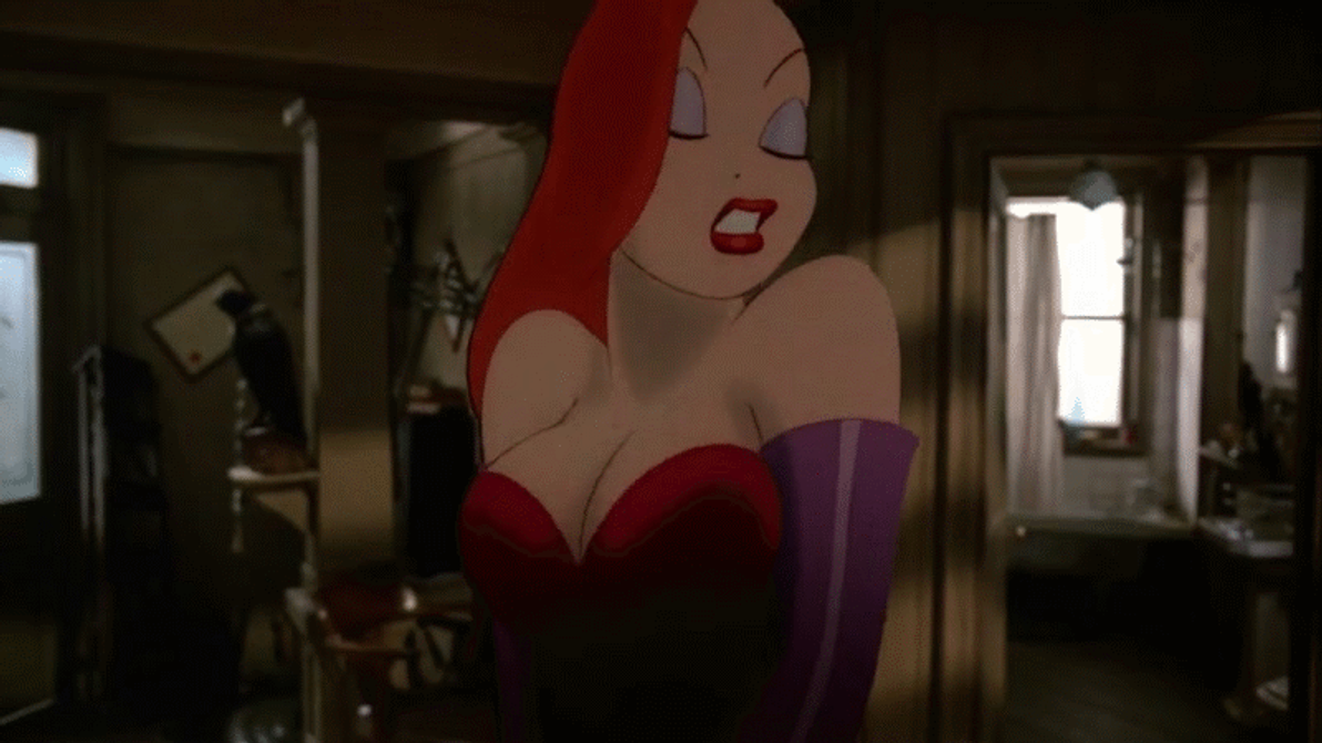 Who Framed Roger Rabbit Jessica Rabbit Nude 14