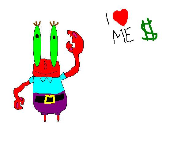 how to draw mr krabs
