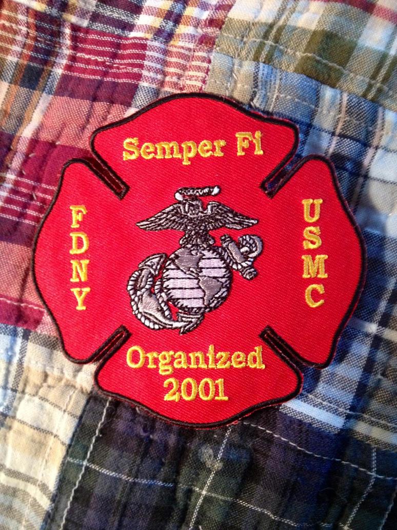 FDNY USMC patch by JamestheRedEngine91
