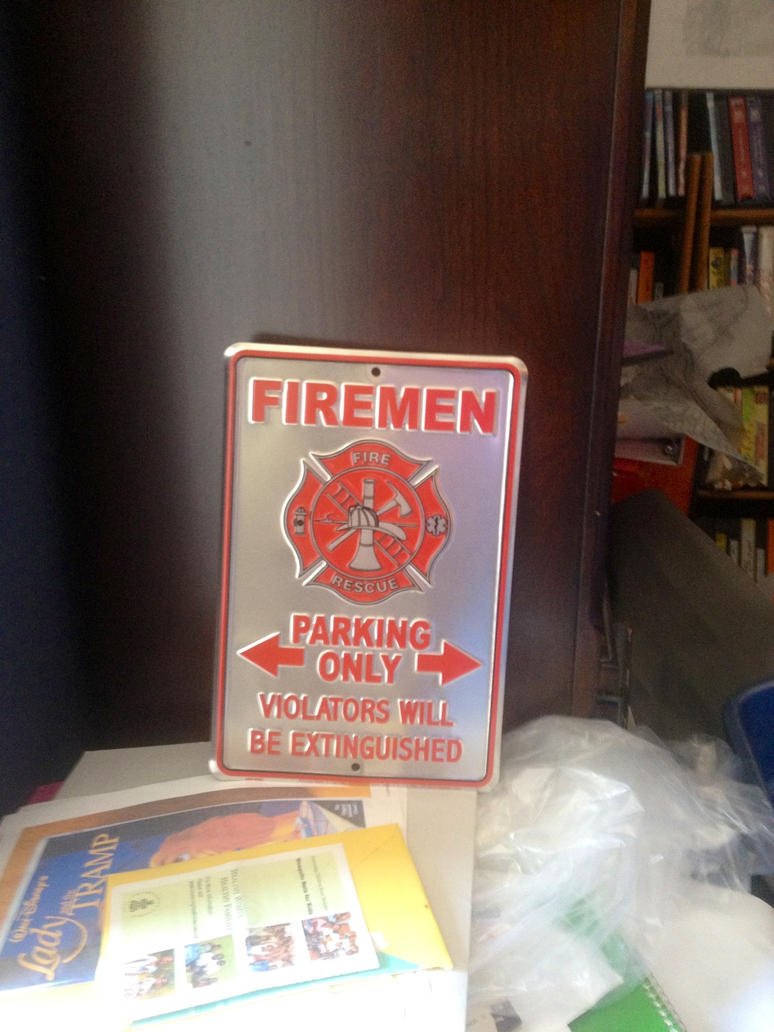 Firemen Parking Only by JamestheRedEngine91