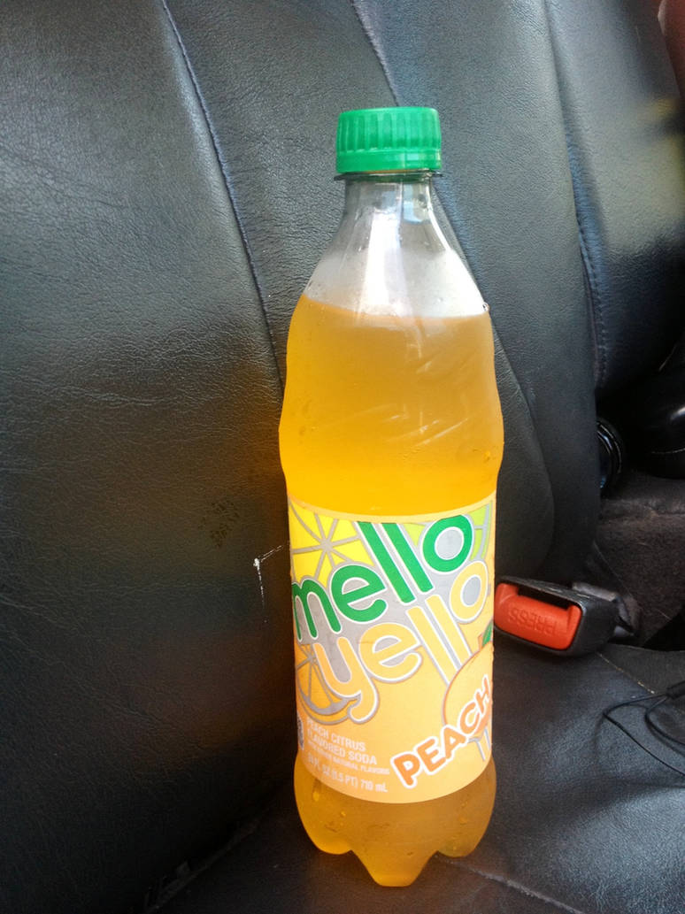 Peach flavored Mello Yello by JamestheRedEngine91
