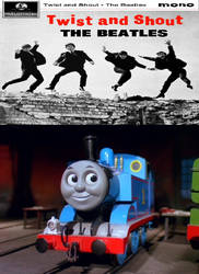 Thomas enjoys Twist and Shout by JamestheRedEngine91