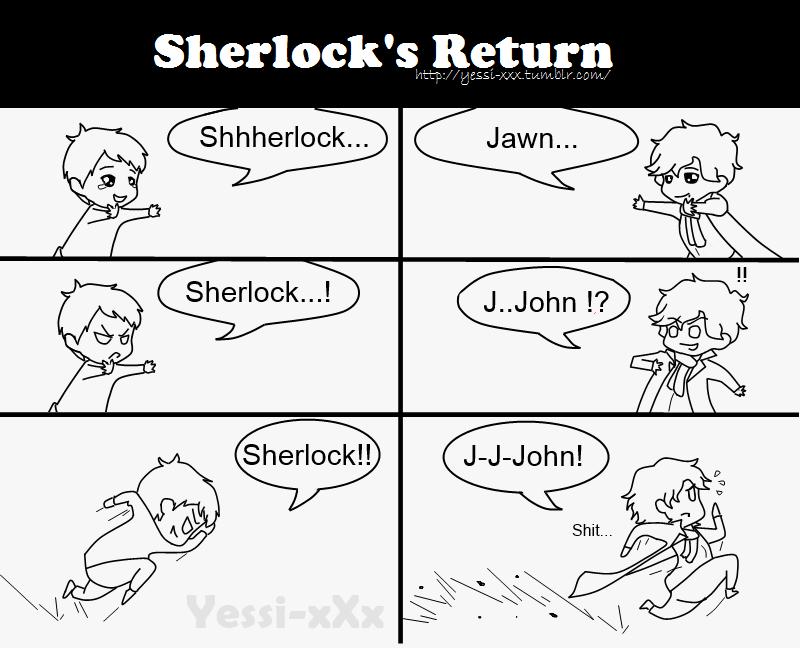 Sherlock's Return Scenario 1 by TuluXVane