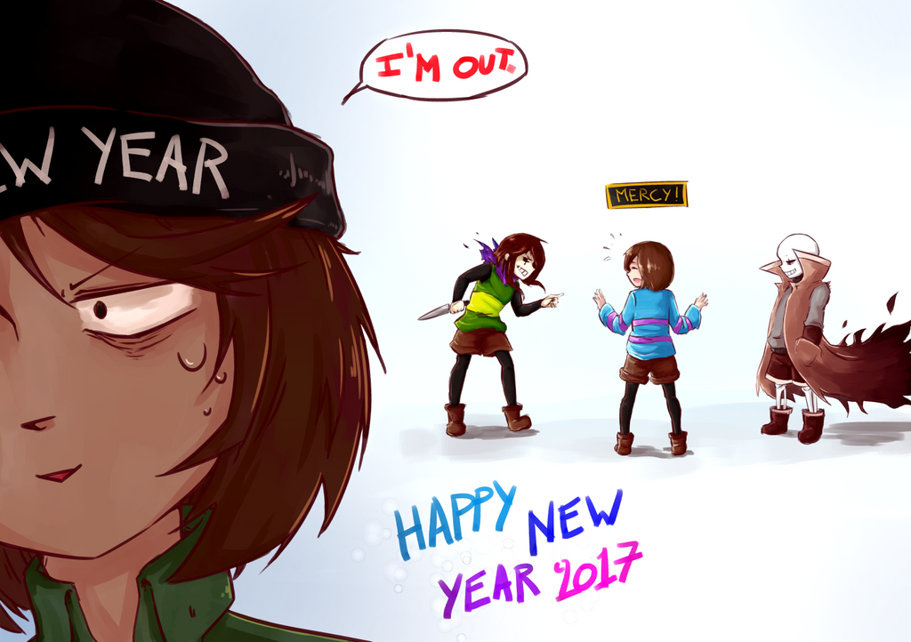 Happy New Year! by Neofox67