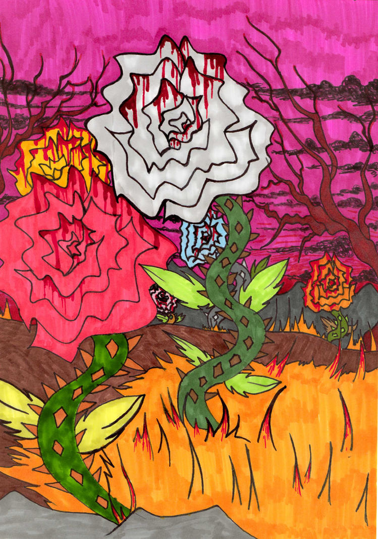 Blood garden