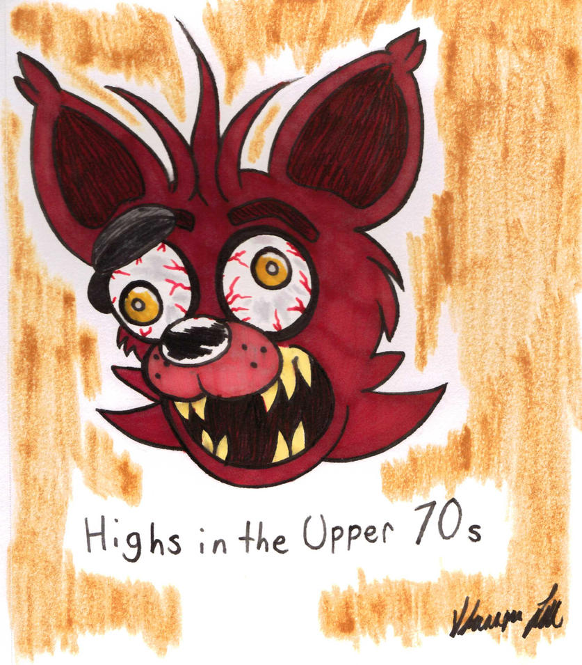 Insane Foxy Head By SrlOctober23 On DeviantArt