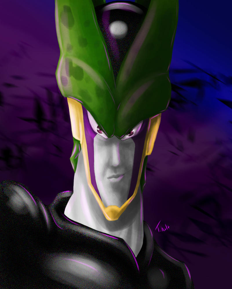 Perfect Cell by Midknight-Hikari