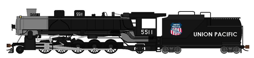 Union Pacific 5511 by Grantrules on DeviantArt