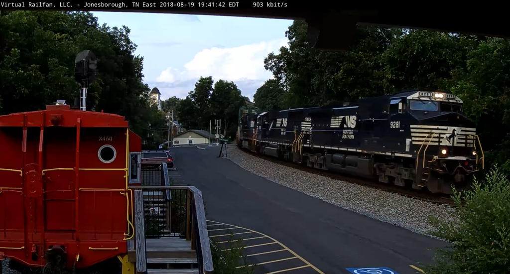 NS 9281 On Railcam by Grantrules