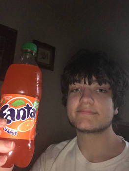 Me with my Favorite Drink