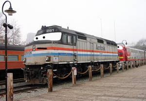 Art Trade- Amtrak 281 (Frisco)