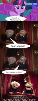 Statler and Waldorf React to Adorkable- Read Desc.