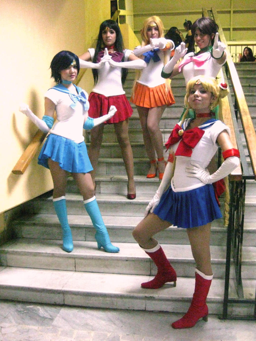 Bishoujo Senshi Sailors Scouts Cosplay by Kathepro on ...