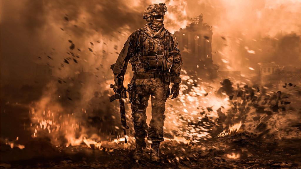 Call Of Duty MW2 By DJ0024