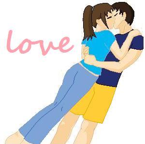 Sweet kiss by LoveLinkGirl