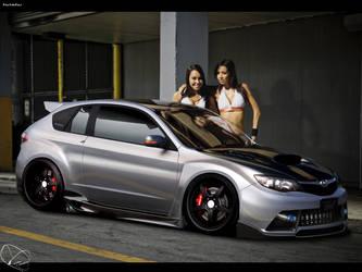 Subaru Impreza by anatre
