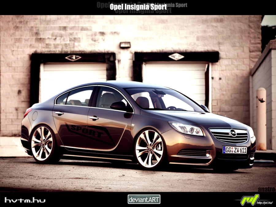 opel insignia s by anatre on deviantart. Black Bedroom Furniture Sets. Home Design Ideas