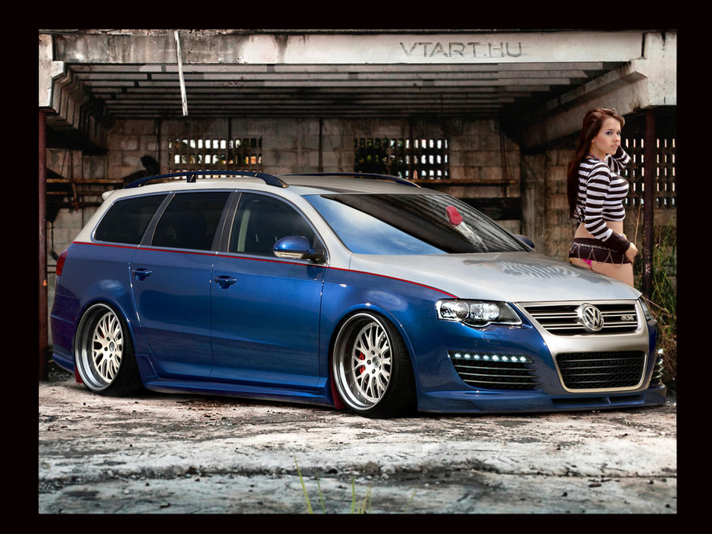 Volkswagen Passat by anatre