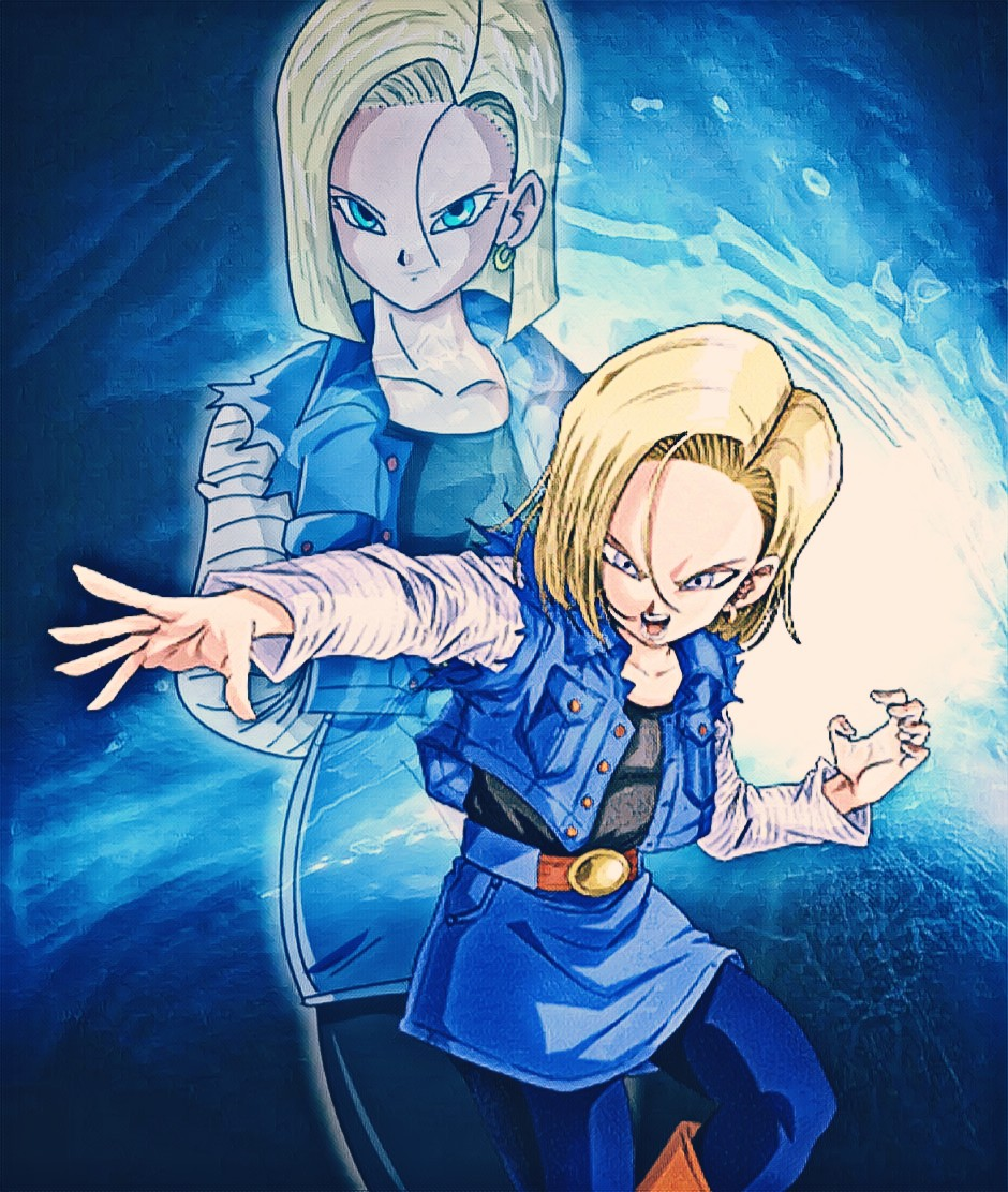 Android 18 Wallpaper By Nakaso On Deviantart