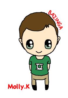 Sheldon Cooper by CupKake101