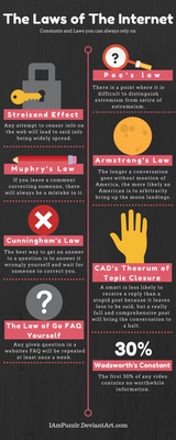 The Laws of The Internet - Infographic