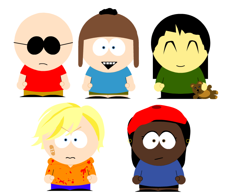 KND South Park by miharuchan
