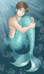 Testing The Waters [Merman!Gael AU]