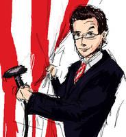 Stephen Colbert by FoxyRoxy237