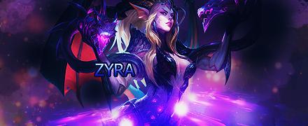 Dragon Sorceress Zyra Signature