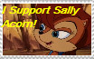 Sally Acorn stamp by HTFNeoHeidi