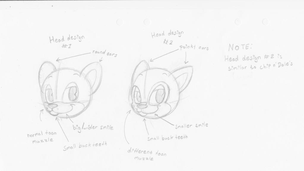 Concept Art - Chipmunk Head Design by HTFNeoHeidi