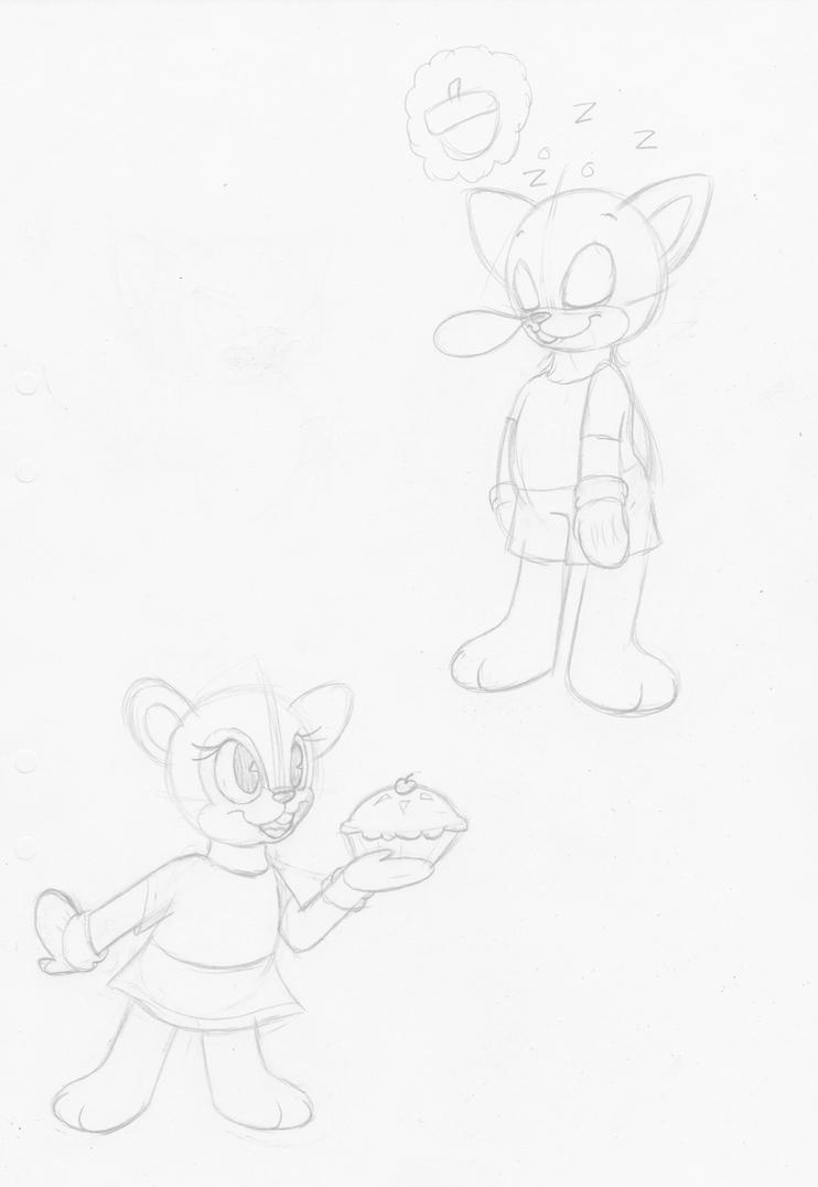 Random Chipmunk Concept Art by HTFNeoHeidi