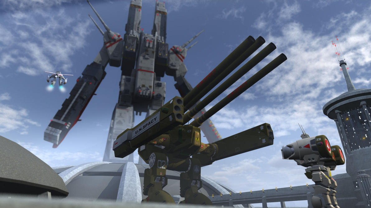 Robotech by spydraxis01 on deviantart - Wallpapers robotech 3d ...