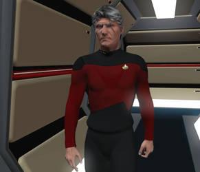Captain Garrick2 closeup post by Spydraxis01