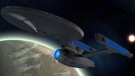 Enterprise A by Spydraxis01