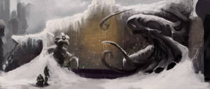Wall Carving-At The Mountains of Madness