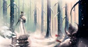 Samurai jack fanart by Mothmandraws