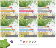 Toybox for Windows 7 - colors preview by Cappippuni