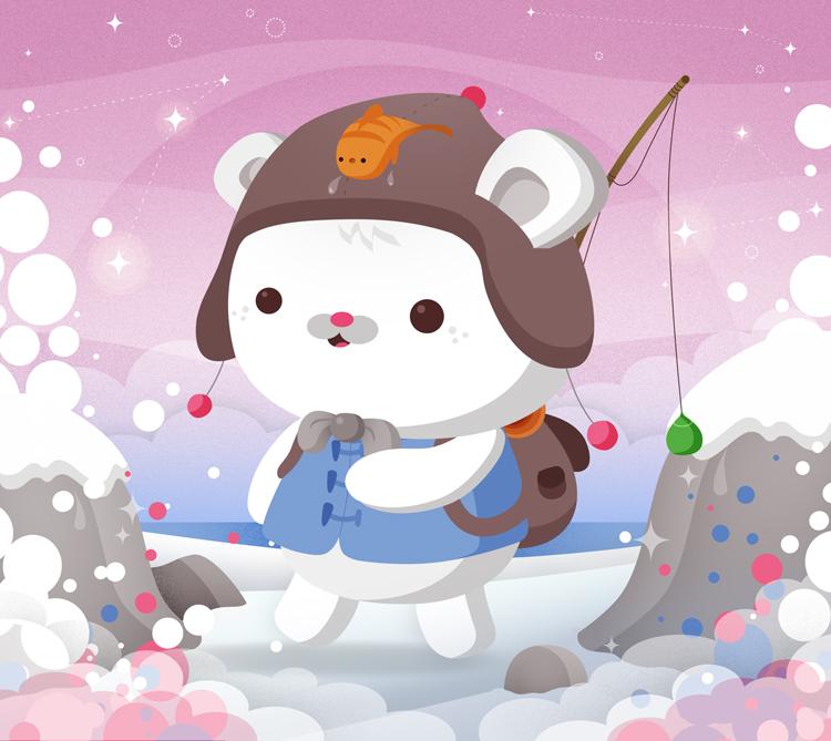 We Love Polar Bears by Cappippuni