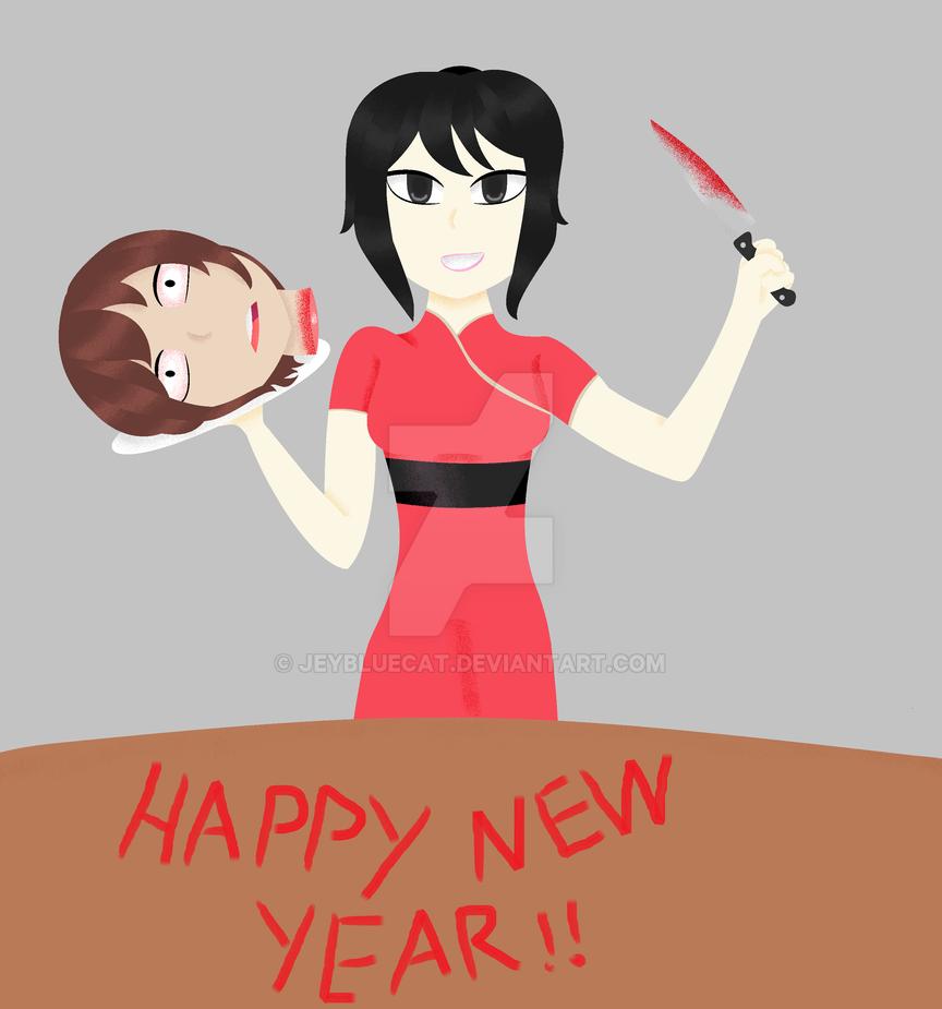 Happy New Year by jeybluecat