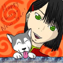 CNY - Year of the Dog by Koshiba
