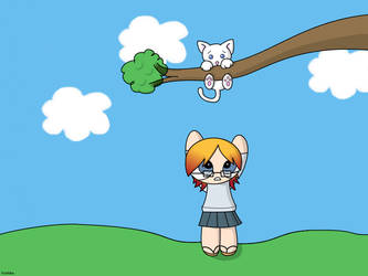 Wallpaper - Cyma and Kiki by Koshiba