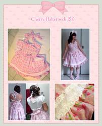 Cherry Halterneck JSK