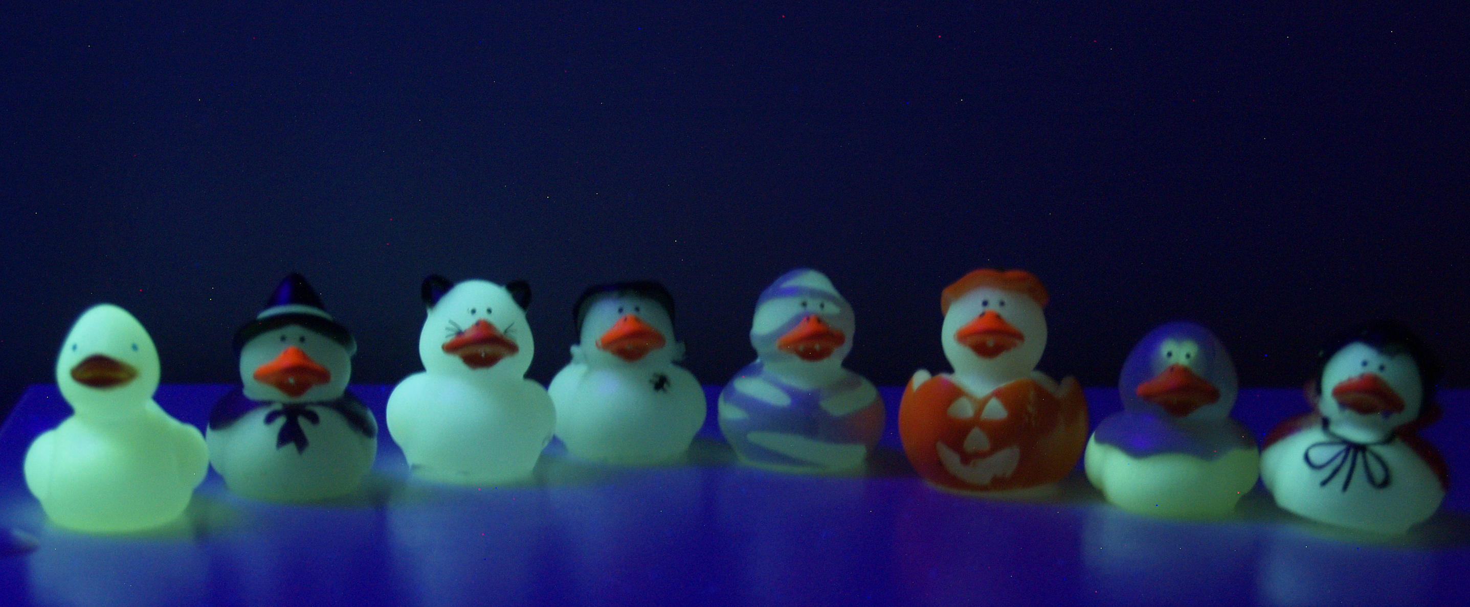 glowing quacks by Rebecca329