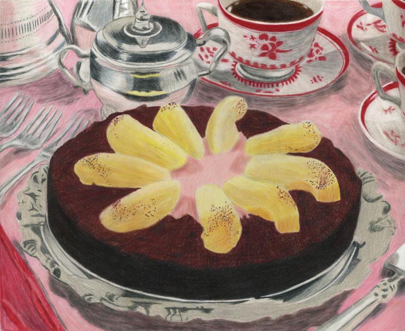 Eric Lanlards Chocolate And Orange Christmas Cake