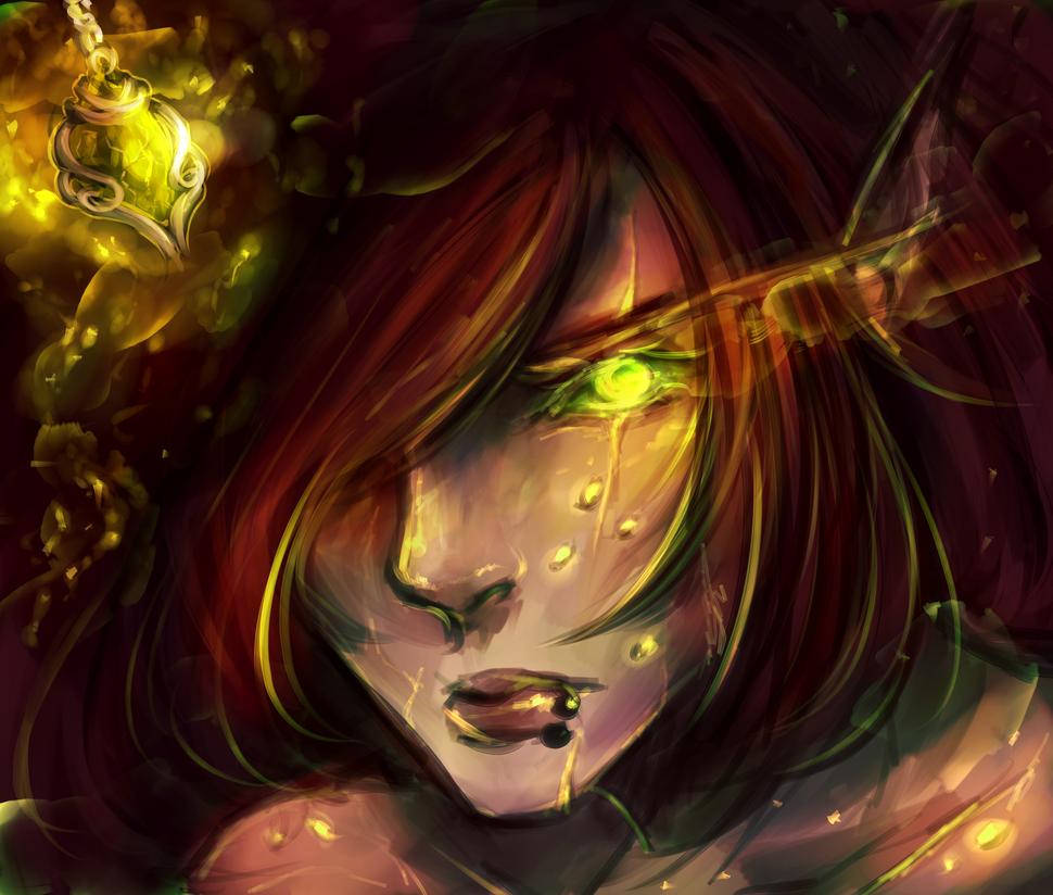 Burning flame by LunarDawn-Art