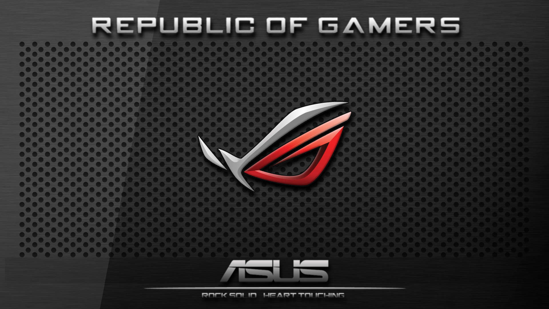 Dark Plate Asus ROG Wallpaper By 4StringFretless On DeviantArt
